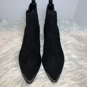 Marc Fisher Ltd Yalen Black Suede